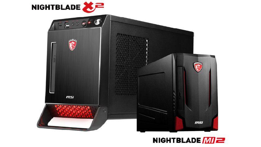 MSI presenta Barebones para juegos Nightblade 30