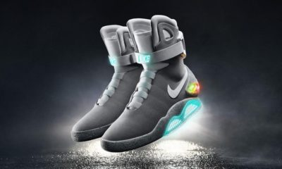 Nike lanzará zapatos que se atan solos en 2016
