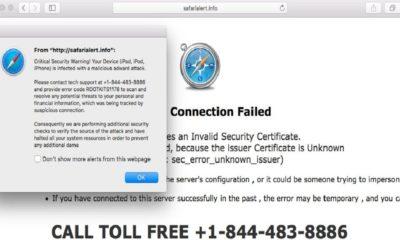 Los fraudes de soporte se centran ahora en Apple 66