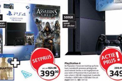 El precio de PS4 también bajará en Europa