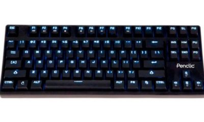 Penclic anuncia una teclado mecánico para Windows, Mac y Linux