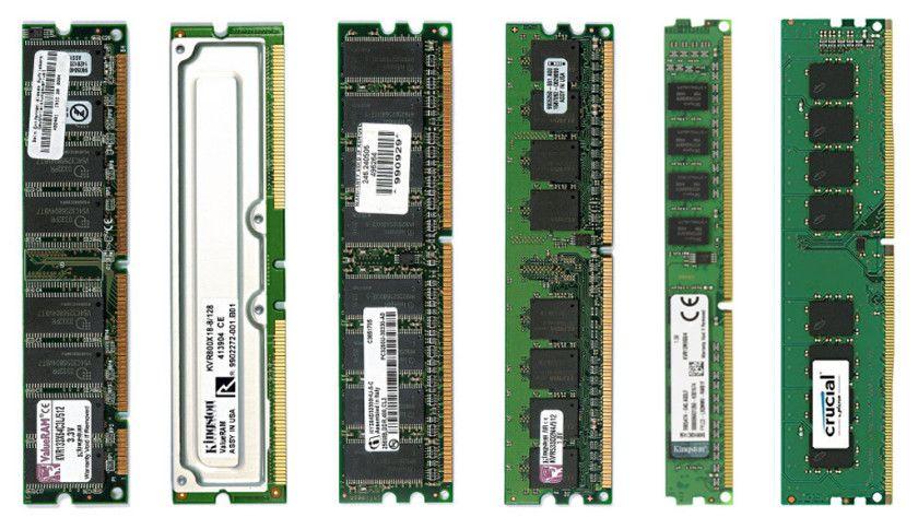 Las memorias DDR3 y DDR4 bajan de precio