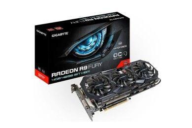 GIGABYTE muestra su Radeon R9 Fury WindForce OC