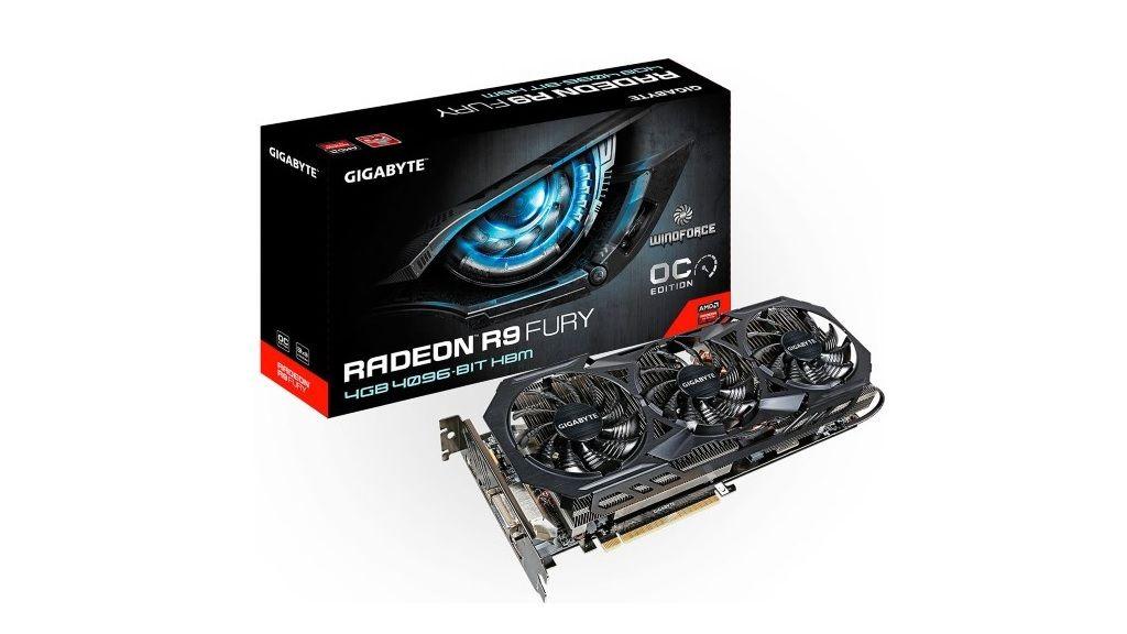 GIGABYTE muestra su Radeon R9 Fury WindForce OC 29