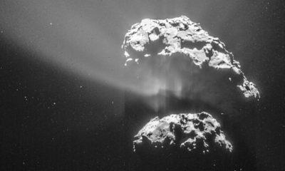 La misión Rosetta descubre oxígeno puro en un cometa 37