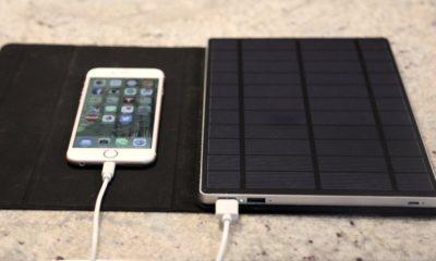 Solartab, un cargador solar para iPad, iPhone y dispositivos con USB