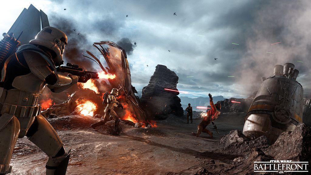 Prueba de rendimiento de Star Wars: Battlefront 30