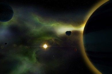 El Hubble capta la última frontera del universo conocido