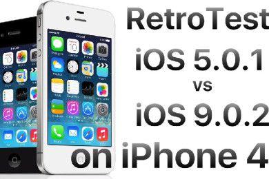 iOS 9.0.2 vs iOS 5.0.1 en rendimiento ¡Sorprendente!