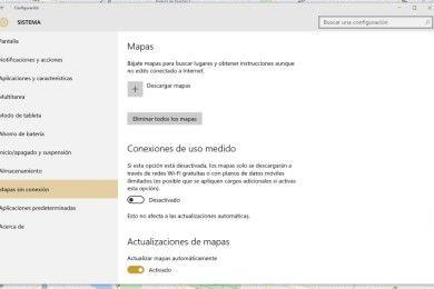 Cómo descargar mapas en Windows 10