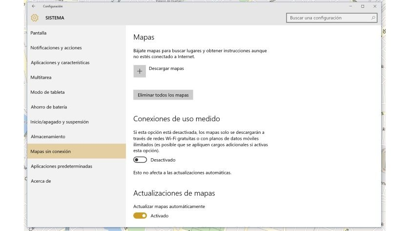 mapas offline windows 10