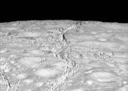 Animación de Encélado, la enorme luna de Saturno 27