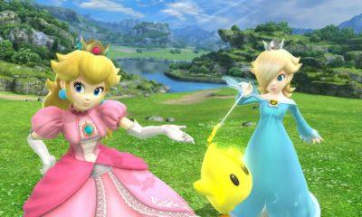 Princess Peach bajo Unreal Engine 4 y HairWorks 30