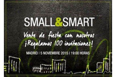 ¡Te esperamos en los Premios Small & Smart!