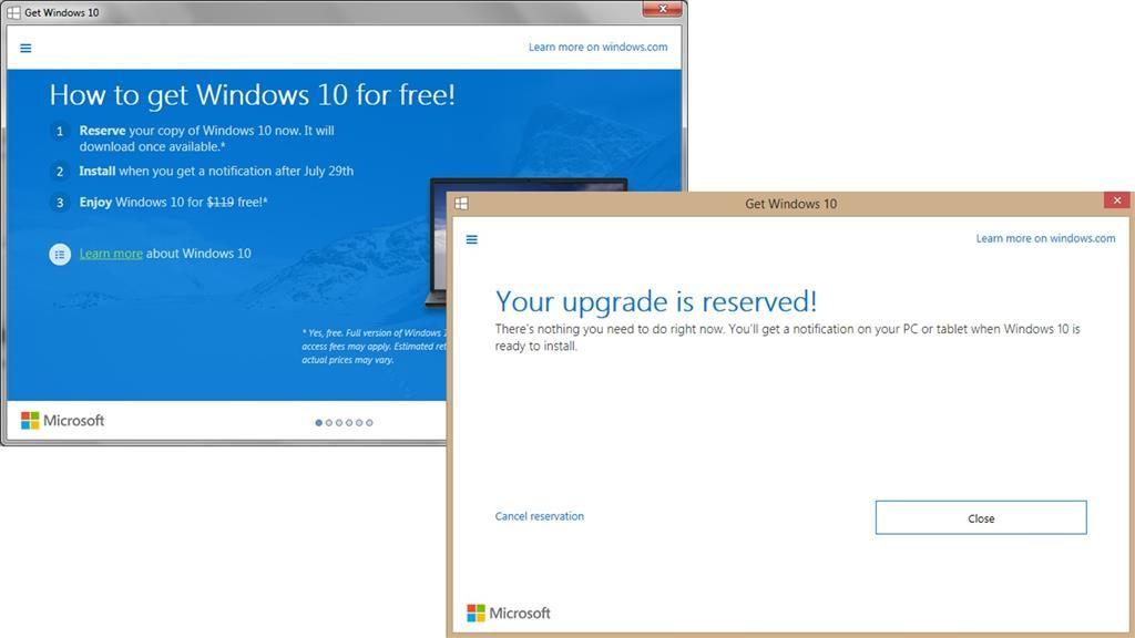 No quiero Windows 10, una app contra la actualización 30