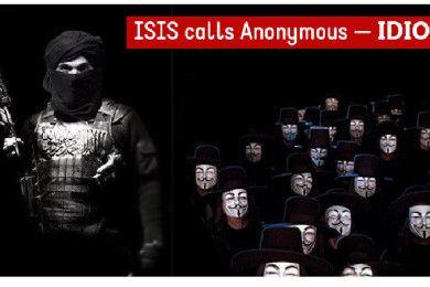 """Anonymous publica """"guías de novatos"""" contra ISIS y éstos los llaman """"idiotas"""""""