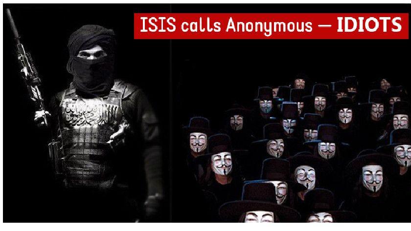 """Anonymous publica """"guías de novatos"""" contra ISIS y éstos los llaman """"idiotas"""" 30"""