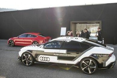 Audi RS 7 autoconducido: Humano contra máquina