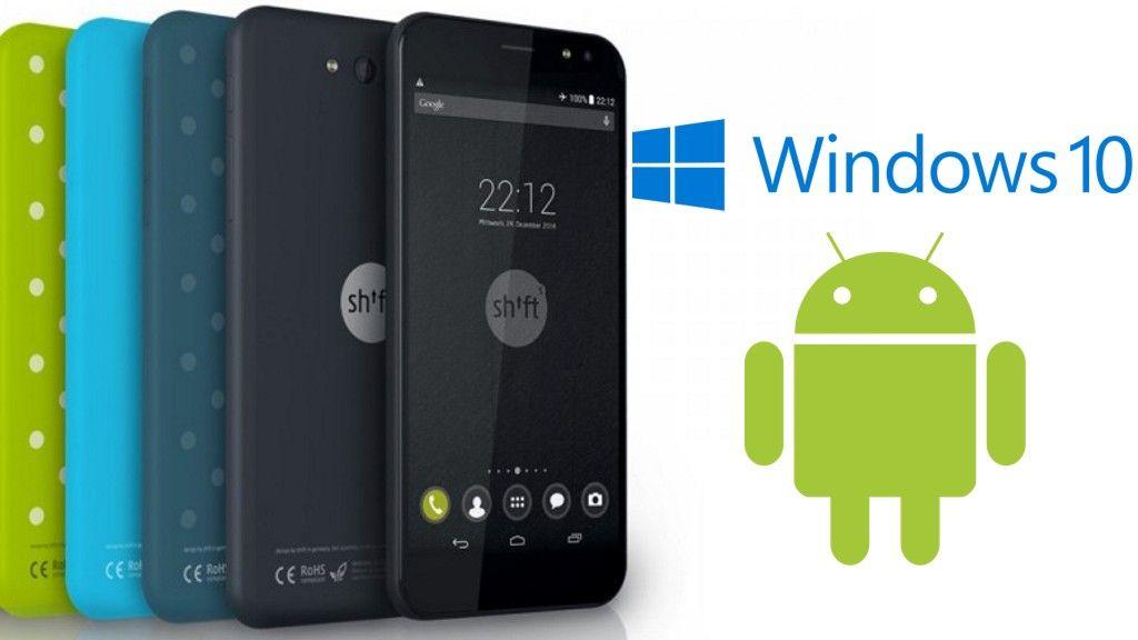 El primer smartphone modular con Windows 10 Mobile llegará en 2016