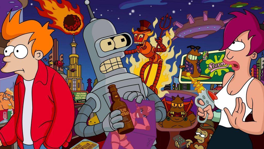 Futurama regresará como un juego para plataformas móviles