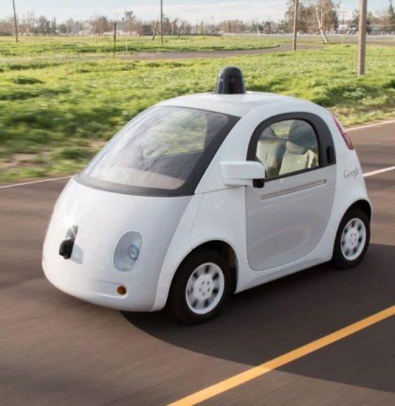 Paran un Google Car por conducir muy lento 32