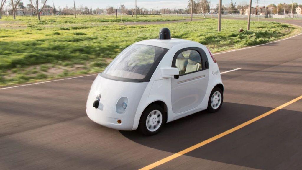 Paran un Google Car por conducir muy lento 30