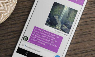 La aplicación de conversaciones cifradas Signal llega a Android