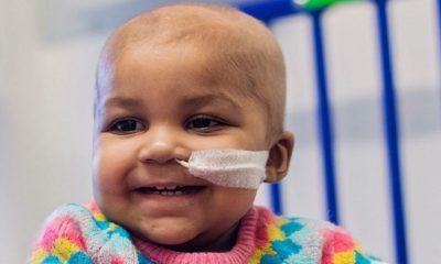 Salvan a un bebé con leucemia con modificación genética 32