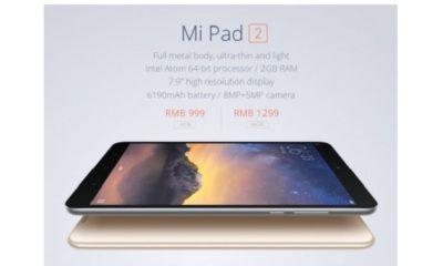 Xiaomi Mi Pad 2: bueno, bonito, barato y con versiones Android y Windows 88