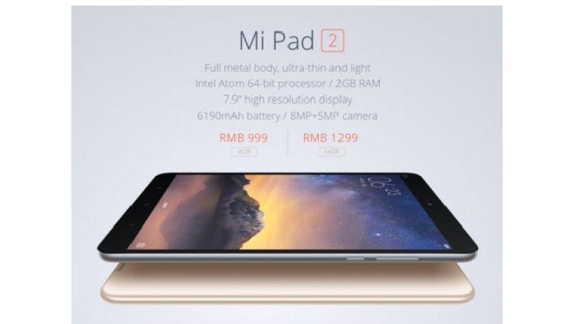 Xiaomi Mi Pad 2: bueno, bonito, barato y con versiones Android y Windows 28