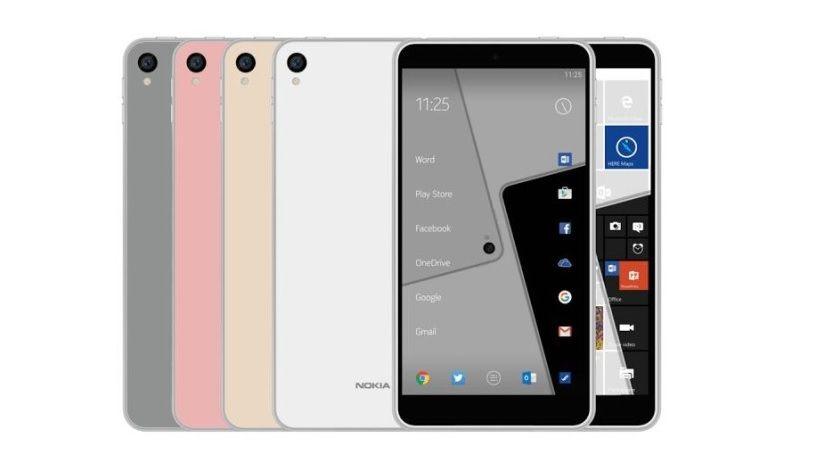 Así sería el Nokia C1, usaría Android y Windows 10 Mobile 29