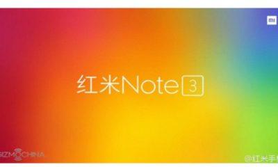 Xiaomi lanzará esta semana el Redmi Note 3 30