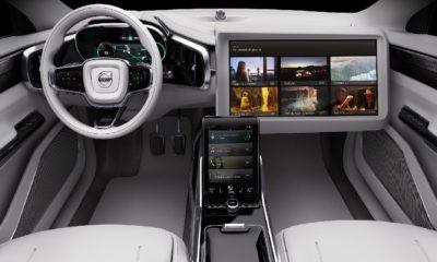 Así será el Volvo autoconducido Concept 26 84