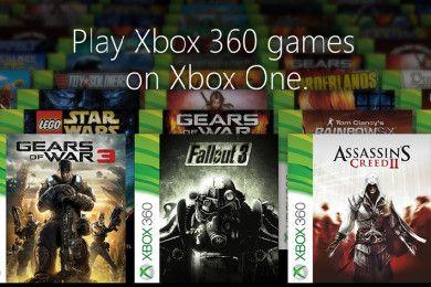 Aquí están los primeros 104 juegos de Xbox 360 para la Xbox One