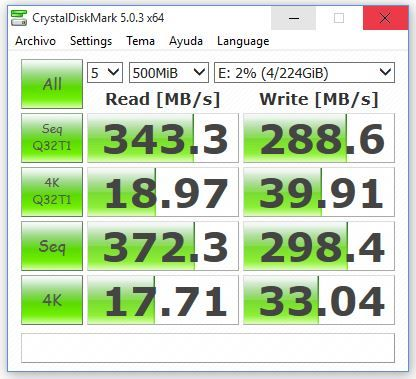 crystaldisk mark 1