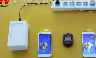 Huawei tiene baterías que cargan al 50% en 5 minutos 104