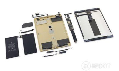 El iPad Pro pasa por las manos de iFixit, puntúa un 3 sobre 10 28