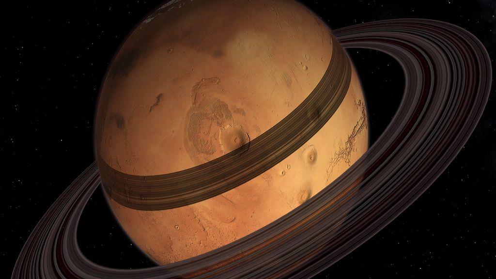 Marte tendrá anillos gracias a su satélite Fobos 31