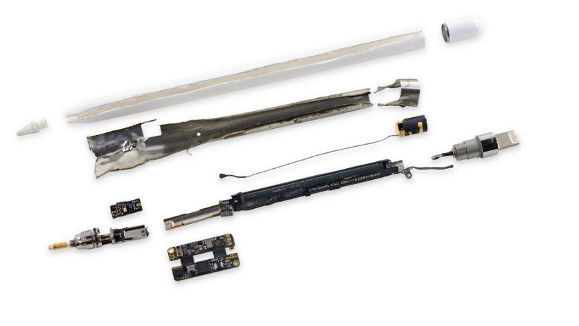 iFixit desmonta el Apple Pencil, recibe un 1 sobre 10 30