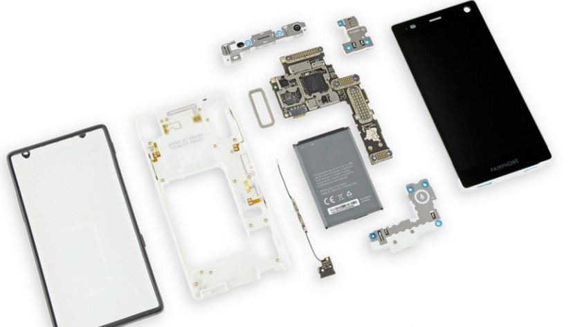 Fairphone 2 logra un 10 sobre 10 en iFixit 30