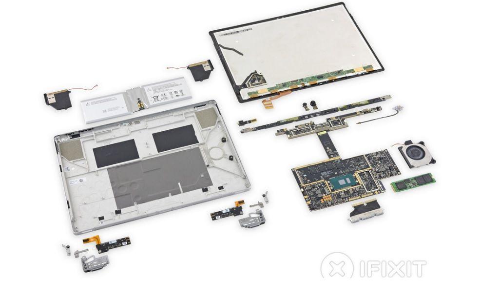 Surface Book pasa por iFixit, consigue un 1 sobre 10 29