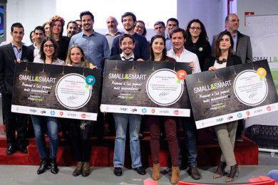 Ganadores de los premios Small & Smart 2015 en MuyPymes