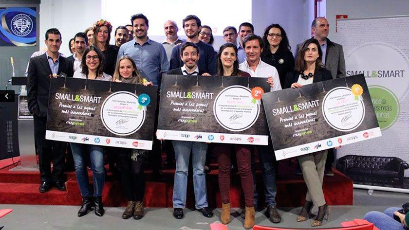 Ganadores de los premios Small & Smart 2015 en MuyPymes 27