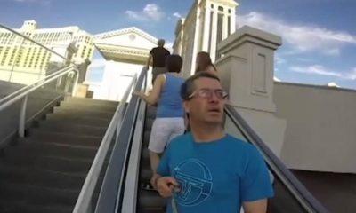 Este hombre se convierte en la estrella de YouTube grabando con una GoPro ¡al revés! 68