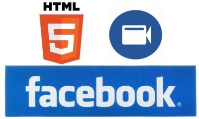 Facebook empezará a usar HTML5 para los vídeos
