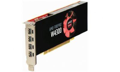 AMD presenta gráfica profesional de bajo perfil FirePro W4300 31
