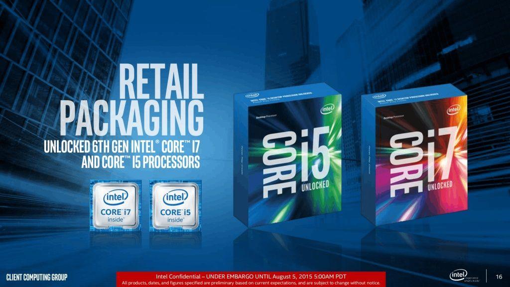Podremos overclockear los Intel Skylake no K 29