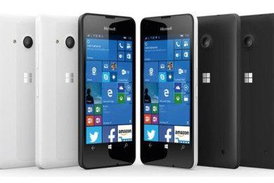 """Lumia 550, disponible """"el 4G más asequible con Windows 10"""""""