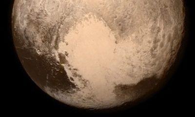 """La NASA nos muestra detalles del """"corazón roto"""" de Plutón 64"""