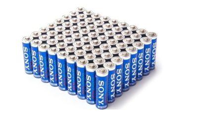 Sony trabaja en baterías de mayor capacidad con azufre 100